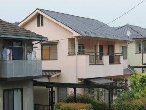 福山市加茂町M様邸 屋根塗装工事(2015年6月)