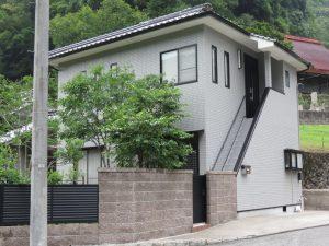 尾道市御調町O様邸 外壁と外階段塗装(2015年6月)