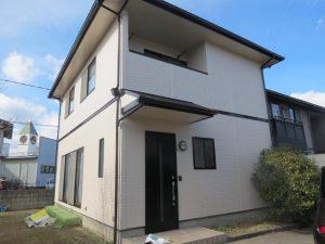 福山市多治米町K様邸 外壁・屋根塗装工事(2017年2月)