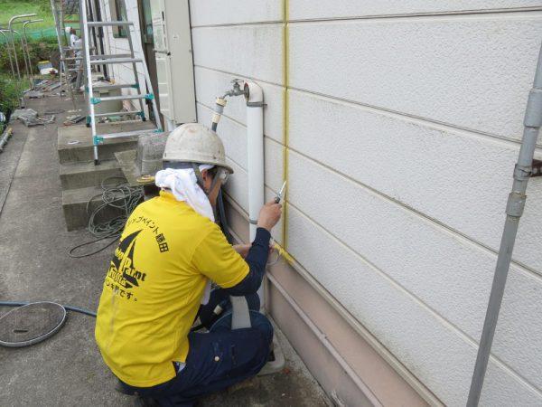 福山市内海町K様邸 外壁塗装工事