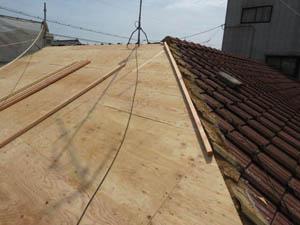 福山市M様邸 屋根の防水修復・塗り替え工事