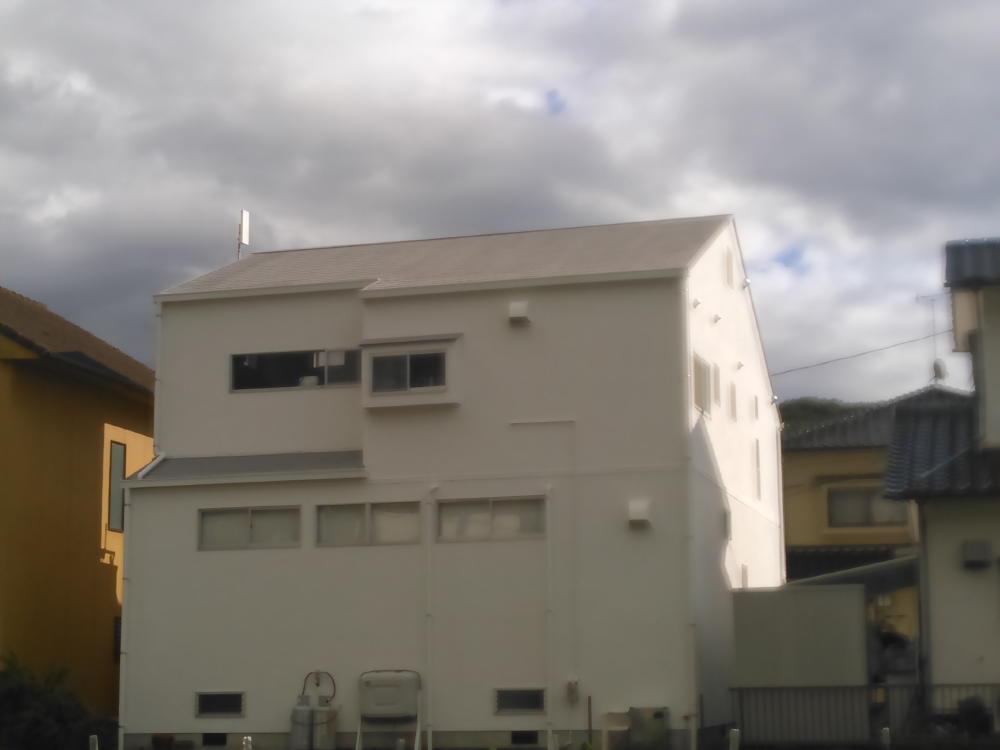 福山市御幸町 W様邸 外壁屋根塗装工事